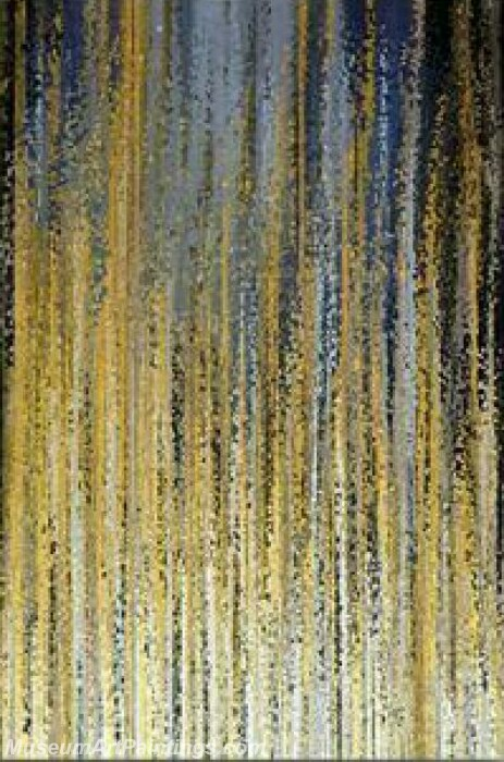 Golden Tree Painting Modern Abstract Art for Sale GT017
