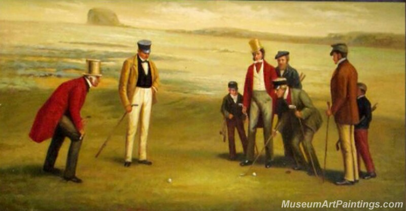 Golf Oil Paintings GFP03