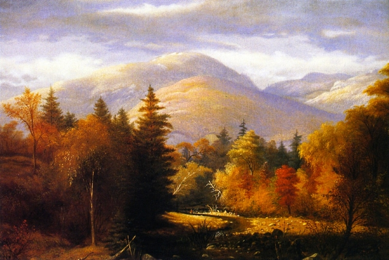 Green Mountains Vermont by James Hope