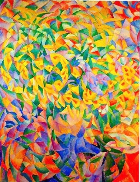 Groot Bloemenstuk by Leo Gestel