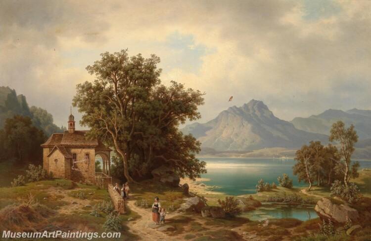Claude Lorrains Ideal Landscape Paintings of the Roman