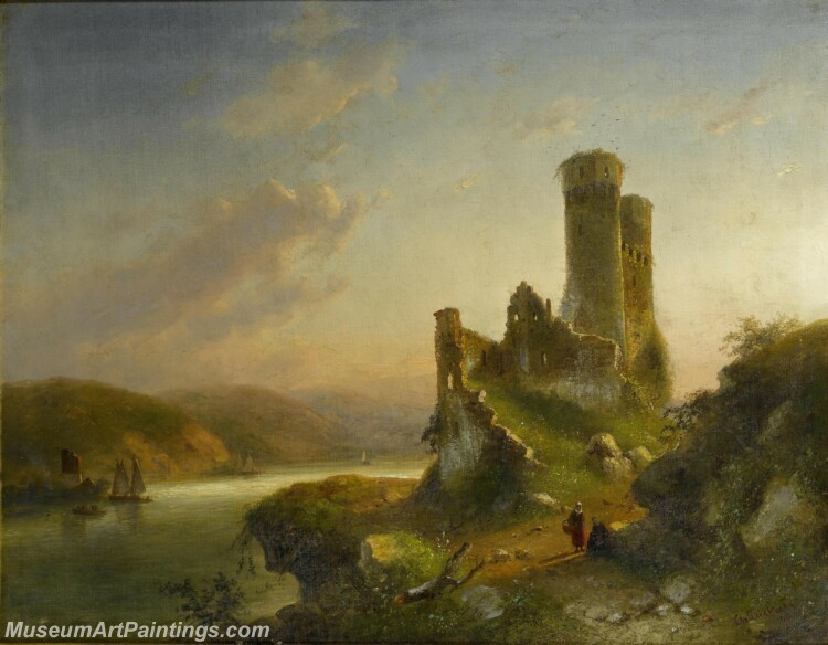 Handmade Classical Landscape Oil Painting A1705