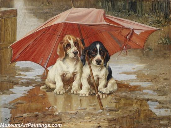 Handmade Dog Portrait Oil Paintings MA0103