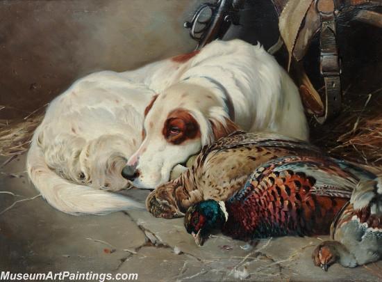 Handmade Dog Portrait Oil Paintings MA0104