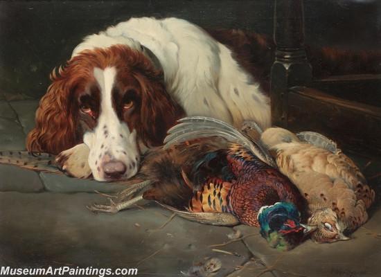Handmade Dog Portrait Oil Paintings MA0105
