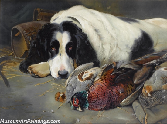 Handmade Dog Portrait Oil Paintings MA0106