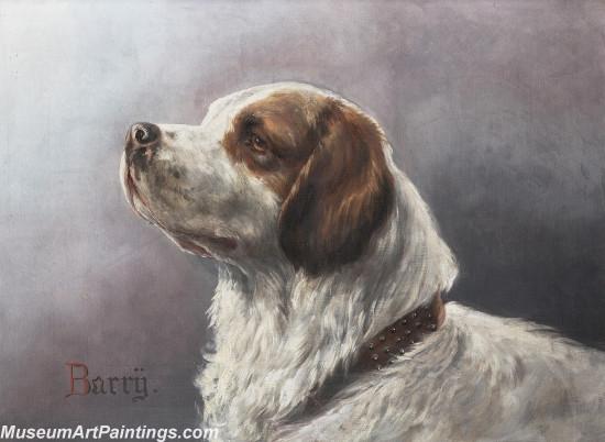 Handmade Dog Portrait Oil Paintings MA0107