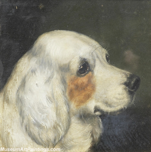 Handmade Dog Portrait Oil Paintings MA030