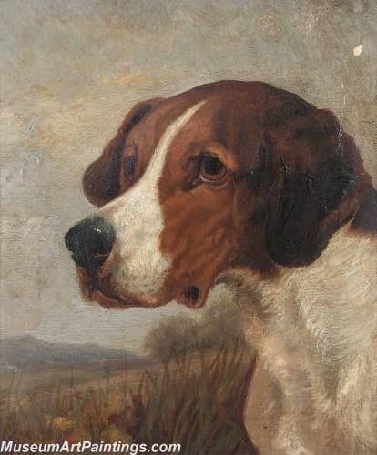 Handmade Dog Portrait Oil Paintings MA032