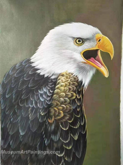 Handmade Eagle Oil Paintings HEPS1