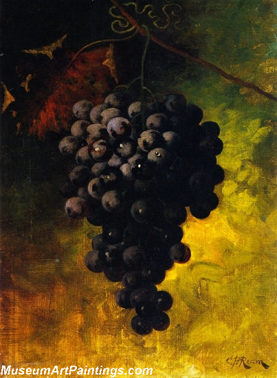 Hanging Grapes Painting