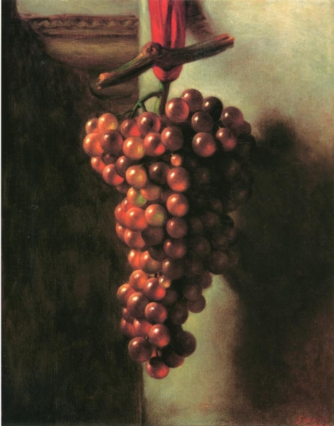 Hanging Grapes by George Henry Hall