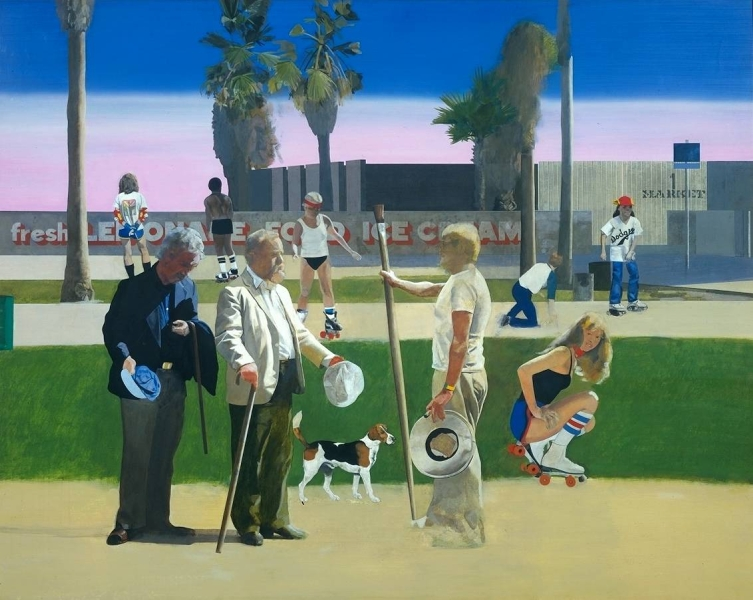 Have a Nice Day Mr Hockney by Peter Blake