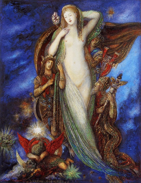 Helene glorifee by Gustave Moreau