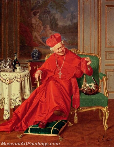 His Eminences Friend Painting