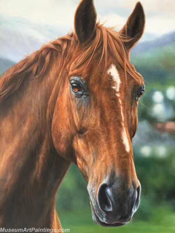 Horse Oil Painting M01