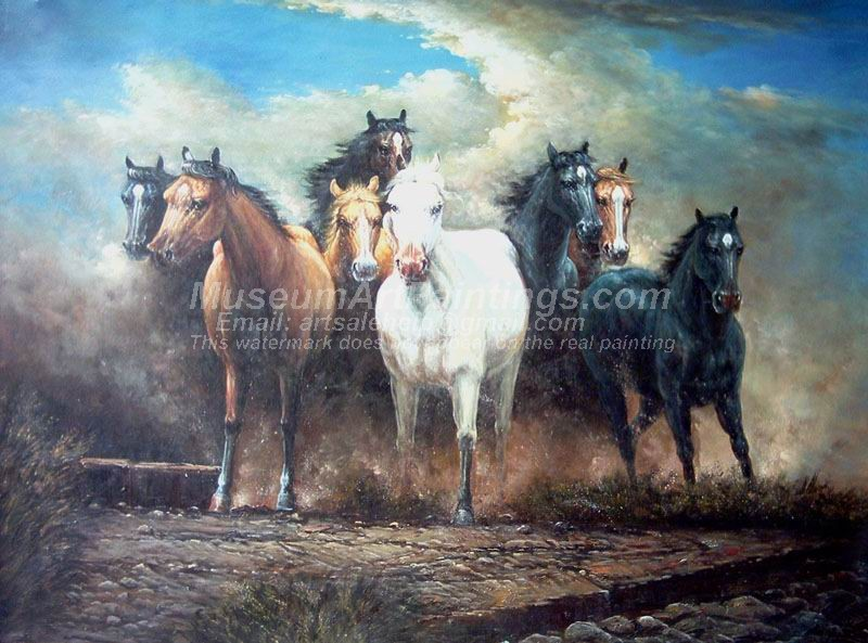 Horse Oil Paintings 002