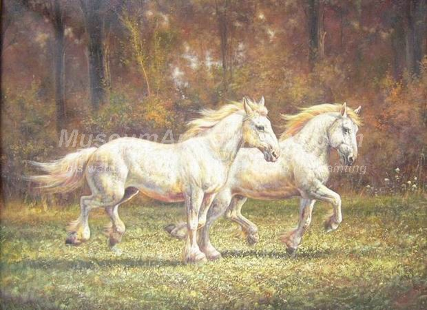 Horse Oil Paintings 003