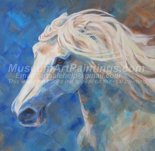 Horse Oil Paintings 004