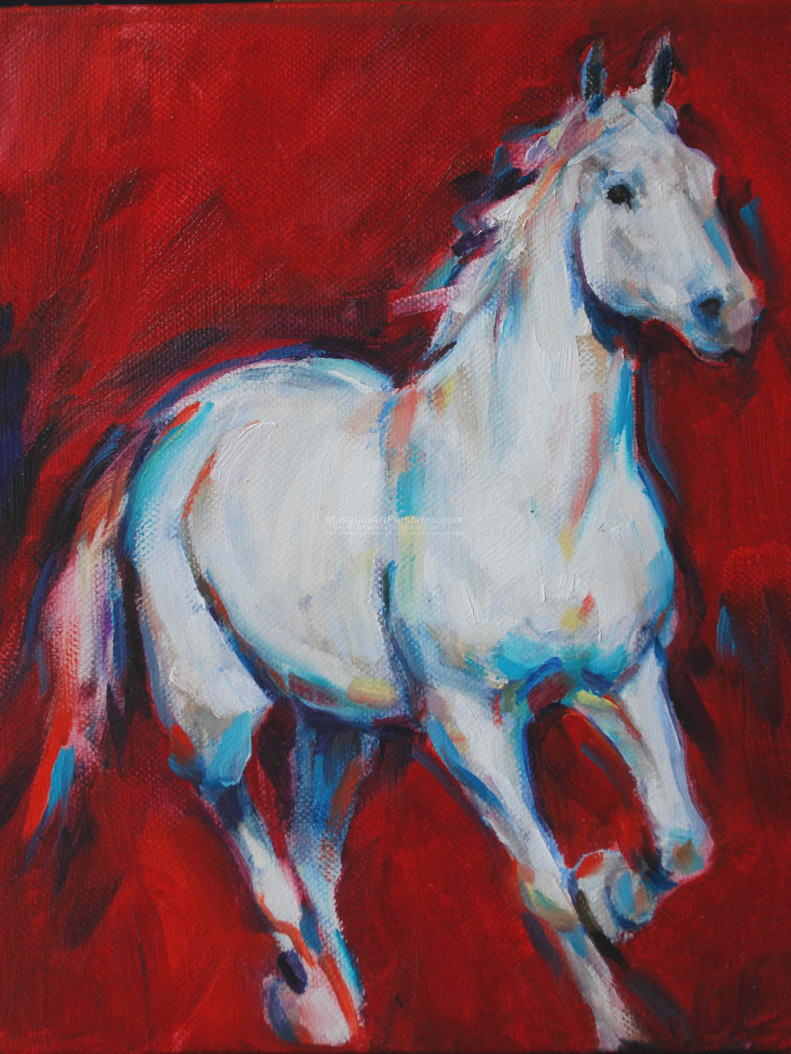 Horse Oil Paintings 005