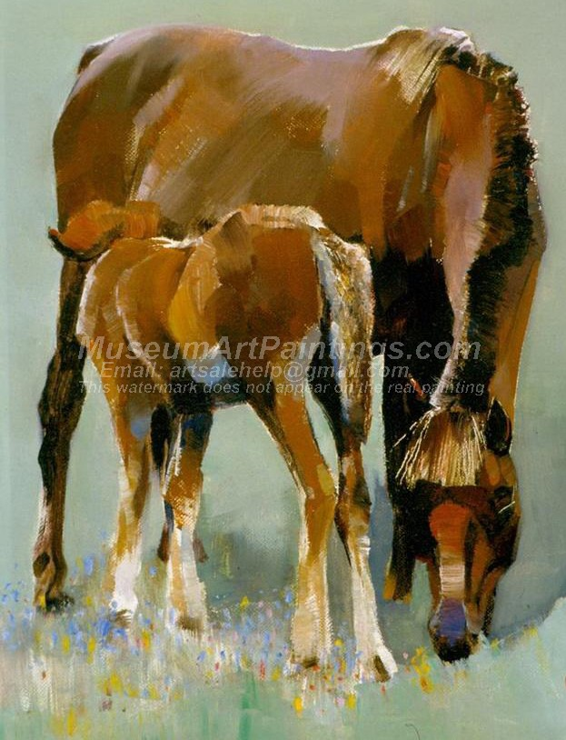Horse Oil Paintings 007