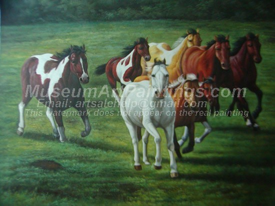 Horse Oil Paintings 010