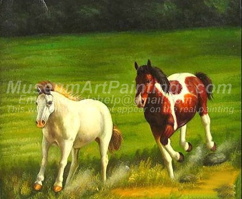 Horse Oil Paintings 011