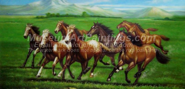 Horse Oil Paintings 013