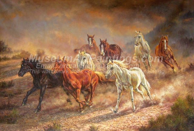 Horse Oil Paintings 014