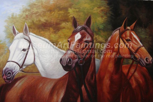 Horse Oil Paintings 015
