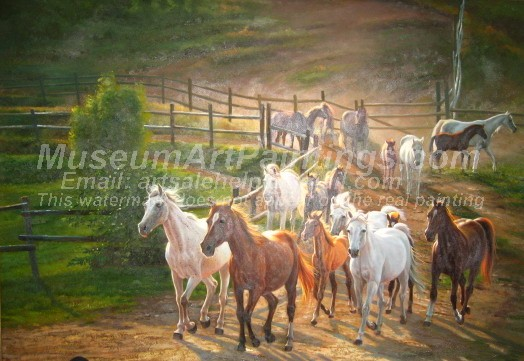 Horse Oil Paintings 016