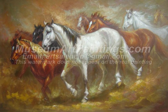 Horse Oil Paintings 017