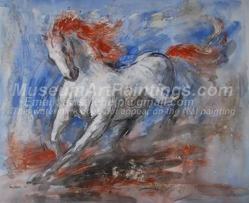 Horse Oil Paintings 021