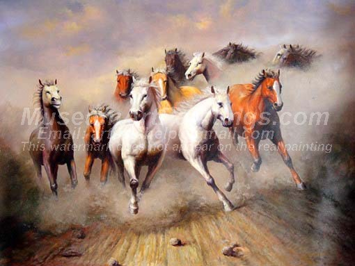 Horse Oil Paintings 022