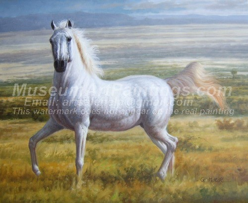 Horse Oil Paintings 023