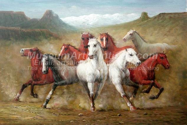 Horse Oil Paintings 025