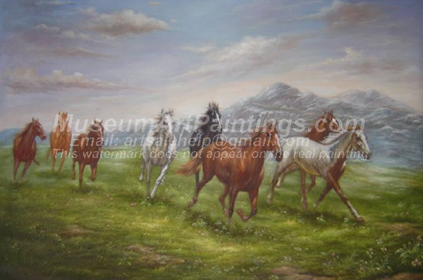 Horse Oil Paintings 027