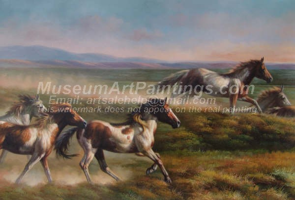 Horse Oil Paintings 028