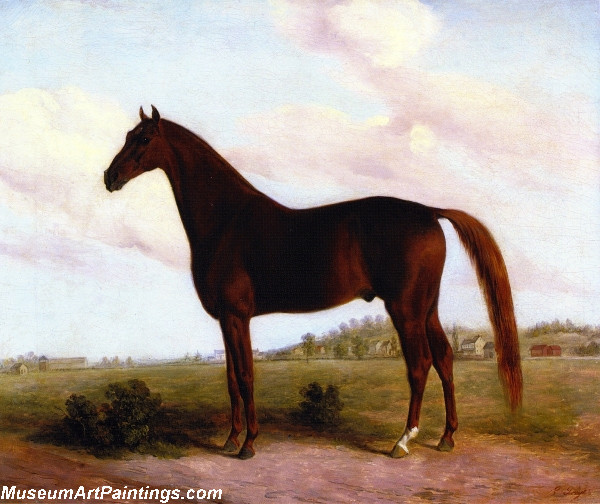 Horse Paintings American Eclipse