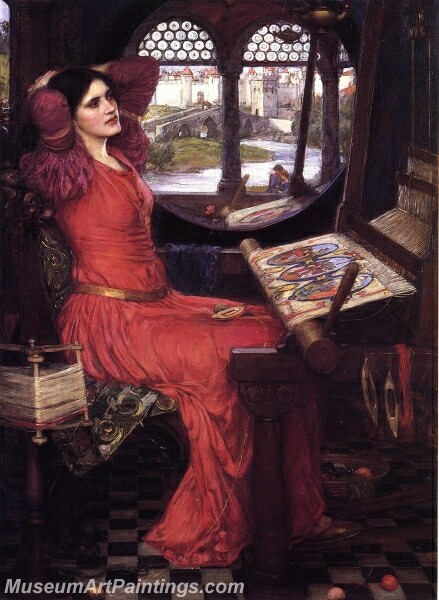 I am Half Sick of Shadows said the Lady of Shalott Painting