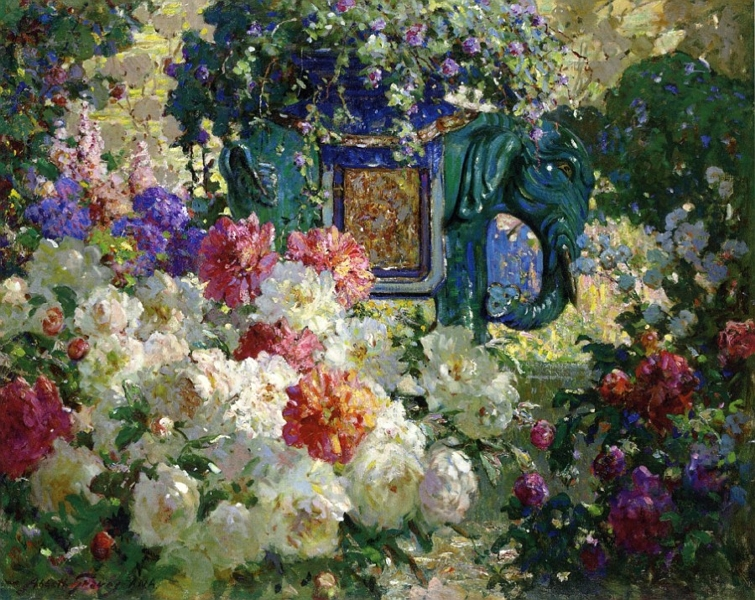 In My Wifes Garden by Abbott Fuller Graves