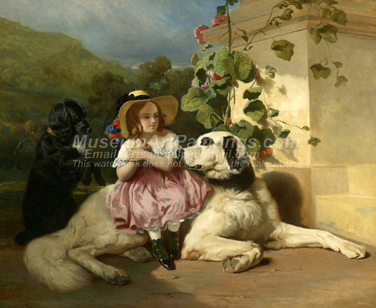 Innocence between Two Thieves by Alfred de Dreux