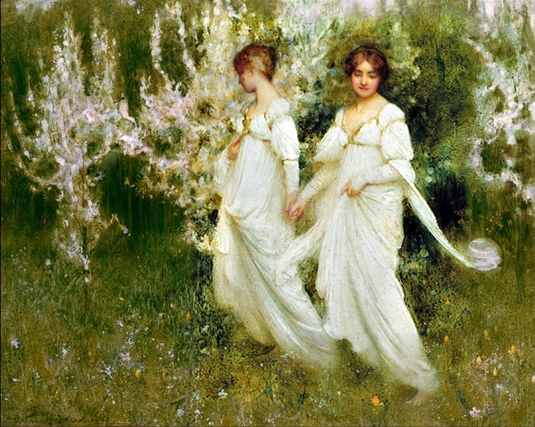 Innocence by Arthur Hacker
