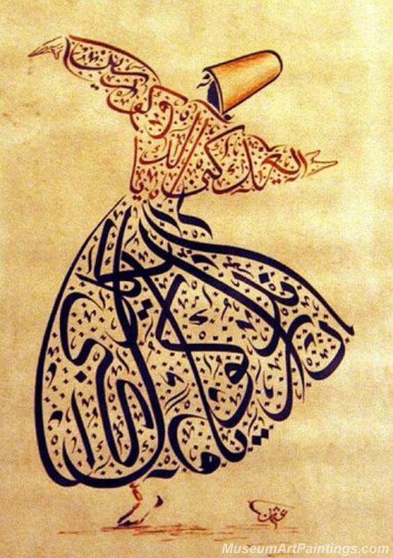Islamic Calligraphy Paintings 001