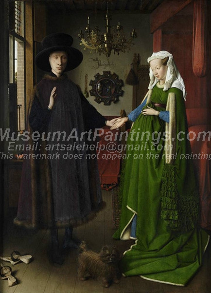 Jan van Eyck The Arnolfini Portrait