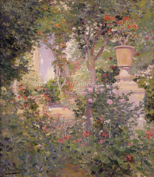Jardin Benlliure by Jose Benlliure y Gil