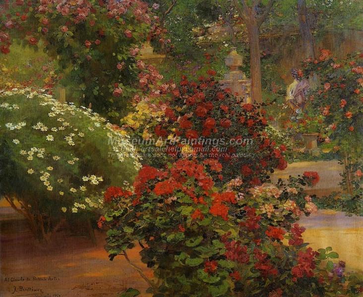 Jardin by Jose Benlliure y Gil