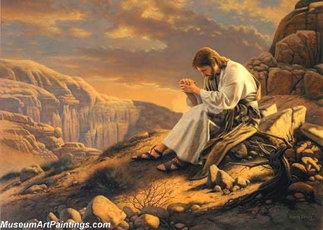 Jesus Christ Oil Paintings 076