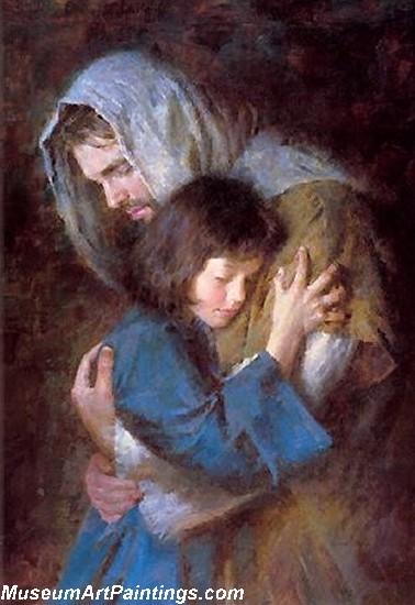 Jesus Christ Oil Paintings 082