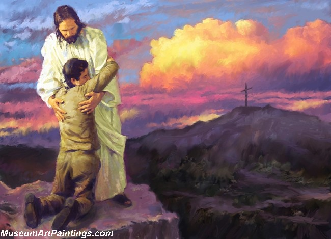 Jesus Christ Oil Paintings 088